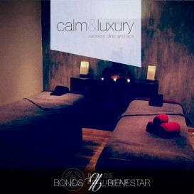 Spa para 2 en Calm&Luxury Wellness Spa en Valencia