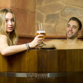 Voucher Circuito Beer Spa em Casal no Beer Spa Alicante