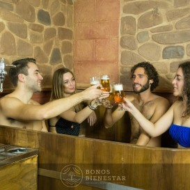Circuito Beer Spa para Estudantes no Beer Spa Alicante