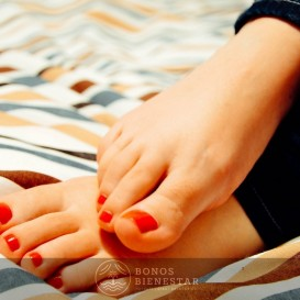 Voucher de Pedicure com Massagem de Pes no Spa Five Senses Granada