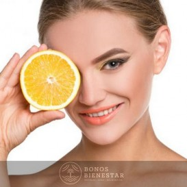 Voucher de Tratamento Calmante Vitamina C no Spa Five Senses Granada