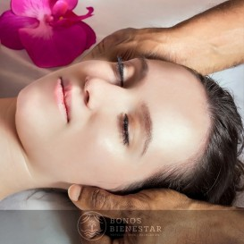 Vale-presente de Massagem Cranio-Facial no SPA Atlantico de O Grove