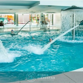Voucher Estadia com Circuito e Massagem no Hotel Spa Aqua Center Deloix
